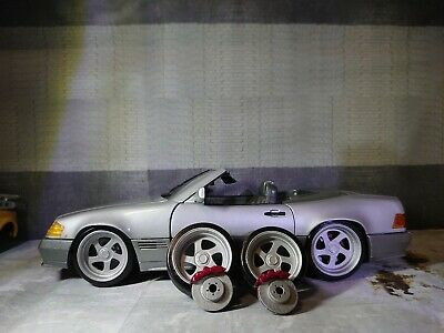 1/18  Set Rotiform Wheels Tyres And Brake Disks For Diorama Or Diecast UNPAINTED • 10£