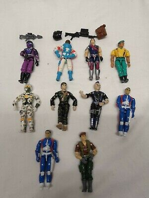 Gi JOE Action Force Figure & Accessories 1980's 1990's Bundle Hasbro Lanard • 59.99£