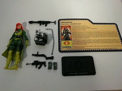 GI Joe Cobra Crimson Asp V1 Convention Exclusive Night Force Nocturnal Fire Set  • 149£
