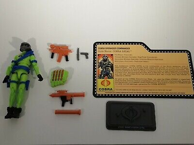 GI Joe Cobra Letal Lethal V1 Convention Exclusive Night Force Nocturnal Fire Set • 69£