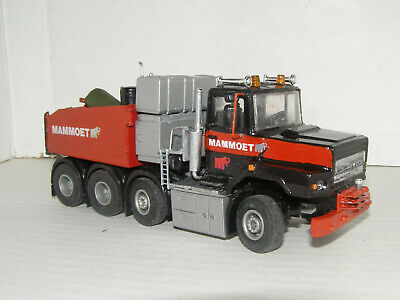 Code 3 Die Cast Daf 2800 8x4 Ballasted 1-50 Scale Hand Made With Mammoet Logos • 55£