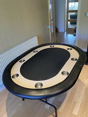 Poker Table With Folding Legs And Cupholders • 75£