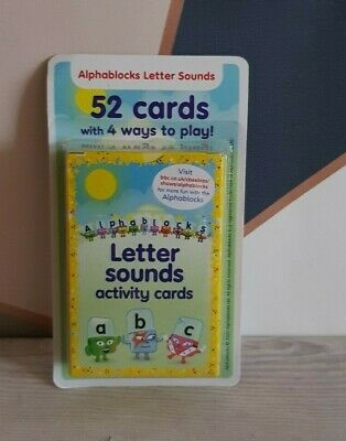 Alphablocks Cbeebies Phonics Letter And Sounds Acitivity Cards Home Schooling  • 7.99£