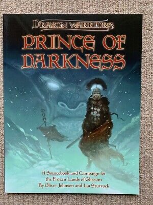 Dragon Warriors RPG: Prince Of Darkness (Softcover) - Magnum Opus Press • 24.99£