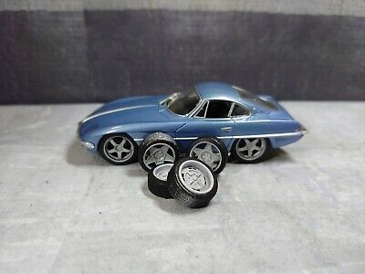 1/43 Three Sets Of Different Wheels For Diorama Or Diecast UNPAINTED • 10£