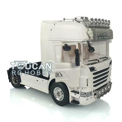 Unpainted Hercules Scania R730 1/14 RC Tractor Truck Motor Front/Roof Light • 529.90£