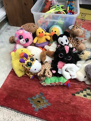 Chimds Soft Toy Bundle 19 Items In Total All Washed  And Clean Various Makes • 2£