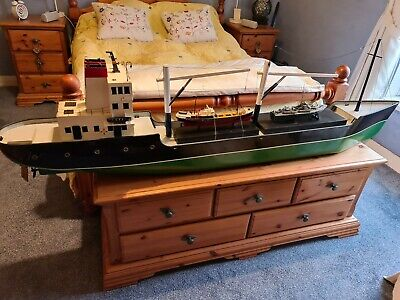 Radio Controlled Cargo Ship Boat • 170£