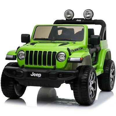 Special Edition 4WD Licensed Jeep Wrangler Rubicon 12V Ride On Children's Jeep • 249.95£