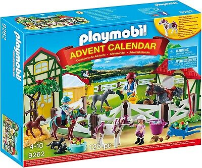 Playmobil Advent Calendar 'Horse Farm' With Flocked Horse-Full Of Figurines NEW • 36.79£