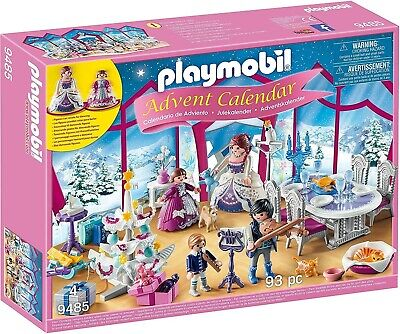 PLAYMOBIL Princess Advent Calendar Christmas Ball 9485 Total 93 Pieces Age 4+ • 31.55£