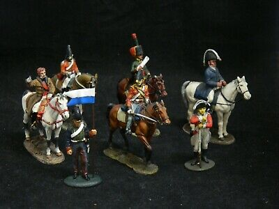 DEL PRADO - Collection Of 7 Historical Toy Soldiers Military Figures - Metal • 12.50£