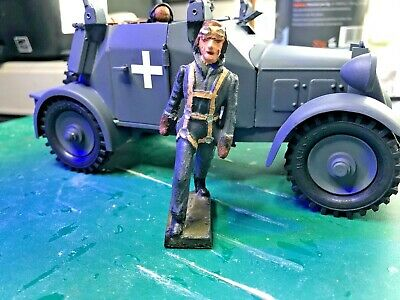 German Soldier / Officer / Airman 1/24  - 70 Mm Could Be Lineol Or Similar • 48.50£