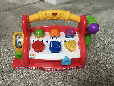 FISHER PRICE LAUGH AND LEARN MUSICAL HAMMER  Pop Up Musical Activity Toy • 5£