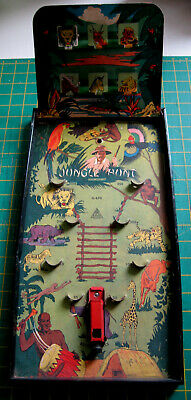 Vintage Bagatelle Gotham 'JUNGLE HUNT' 1930/40's. Classic And Scarce.      • 95£