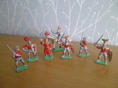 Plastic Toy Soldiers 1/32 Lone Star Medieval Knights • 7.99£
