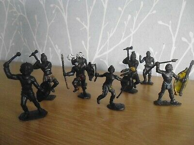Plastic Toy Soldiers 1/32 Lone Star Zulu Warriors • 9.99£