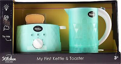 Infunbebe My First Kettle And Pop Up ToasterWith Light And Sound Toy Kids Play • 18.95£
