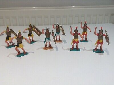 Timpo Romans X 8 Plastic Soldiers • 46£