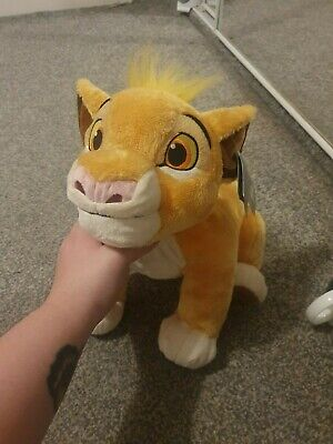 Official Disney Store Plush Lion King Simba Cute Cuddly Toy Teddy • 5£