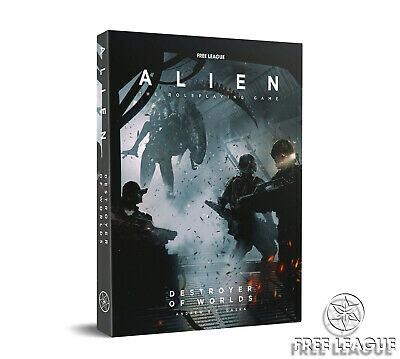 Alien The Roleplaying Game Destroyer Of Worlds RPG Adventure Supplement UK • 24.95£
