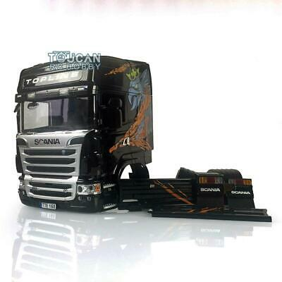Hercules 1/14 RC Tractor Truck Scania R730 Highline Cabin Body Gripen Painted • 419.90£