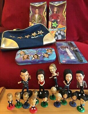 HEAR'SAY Marks & Spencer Handbag, Corinthian PowerPodz, Watch, Super Stars Dolls • 14£