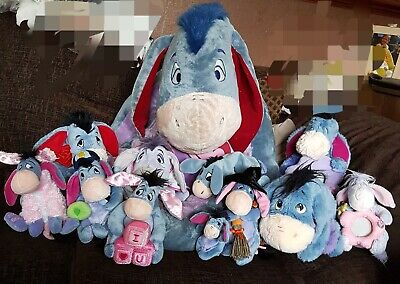 Eeyore Soft Toys Bundle  • 15£