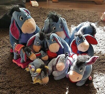 Eeyore Soft Toy Bundle • 10£