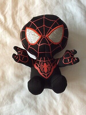 Miles Morales Spider-Man Beanie Baby Soft Toy • 5£