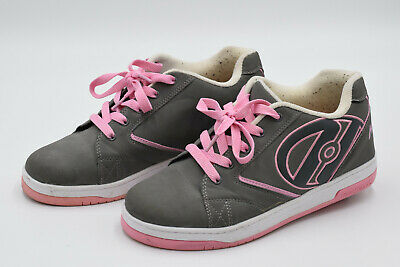 Heelys Adult Size 7 Grey And Pink Trainers • 24.99£