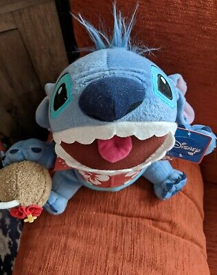 Very Rare Disney Lilo Hawaiian Stitch Soft Toy ONLY 1 ON EBAY New With Tags  • 1£