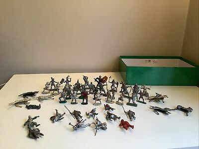Bundle Of 30+ Old Vintage Toy Soldiers, Horse Etc. Most Plastic A Few Lead • 4.99£