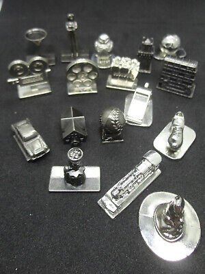 SCENE IT GAME SPARES METAL TOKENS PLAYING PIECES - Choose Your Piece • 2.45£