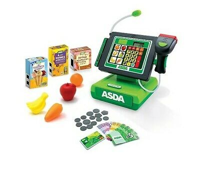 ASDA Toy Checkout Kids Roleplay Cash Register Pretend Play Supermarket Fun Gift • 31.50£