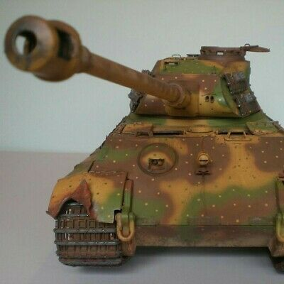 1/16  RC Torro Pro German King Tiger/Tiger 1 Tank Private Commisioned Build • 1,350£