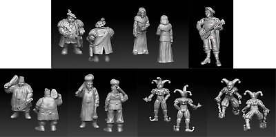 28mm Lords Household D&D Onmioji Multi Listing • 17.50£