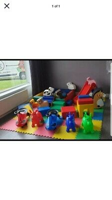 Used Soft Play Equipment With Small Ball Pit • 450£