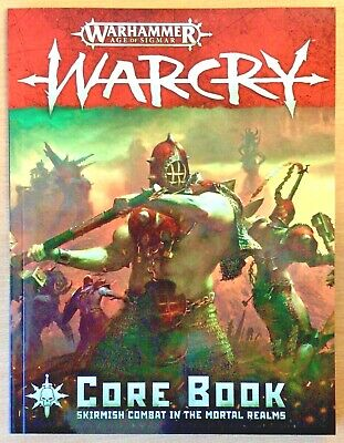 Warcry Core Book - New • 11.99£