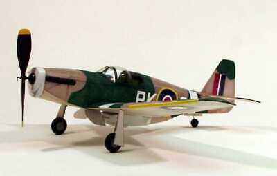 Dumas P-51B Mustang (44.5cm) (218)- A Scale Rubber Powered Flying Model • 25.99£