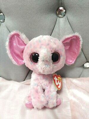 Elephant, Ty Baby Boos, Toy,name  Is Ellie • 6£