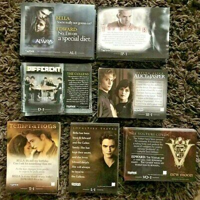 Twilight New Moon Topps Foil / Chase Cards - New - Choose The Numbers You Want • 0.99£
