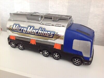 Micro Machines Super Stunt Cascades City Tanker Truck Playset • 19.99£