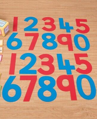 Silicone Number Indoor Outdoor Activity Kit Counting Numeracy Educational Kids • 14.99£