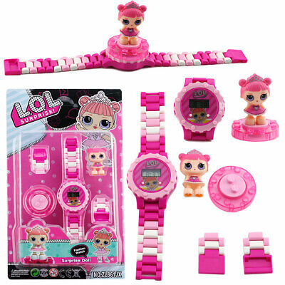 Kids For Girls Toys Electric Watch Doll 2 3 4 5 6 7 8 9 Year Old Age Xmas Gift • 6.98£
