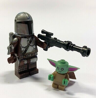 The Mandalorian And Baby Yoda Custom Lego Minifigure The Child • 6.95£