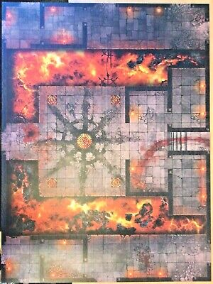 Warcry Catacombs Gaming Mat (the Board From The Warcry Catacombs Boxset) - New • 15.99£