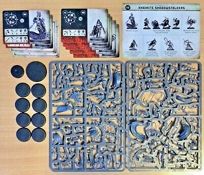 Khainite Shadowstalkers - Warcry Catacombs Models (includes Cards) - New • 44.99£