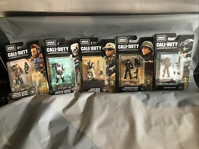 5 Different Call Of Duty Figures Mega Construx • 22.99£