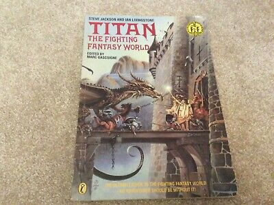 Titan: The Fighting Fantasy World (Puffin Adven... By Livingstone, Ian Paperback • 50£